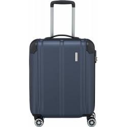 Mažas plastikinis lagaminas Travelite City M žalias