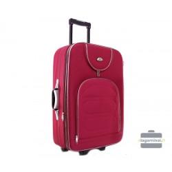Didelis medžiaginis lagaminas Deli 801-D Tamsiai raudonas