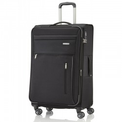 Didelis medžiaginis lagaminas Travelite Capri D Juodas