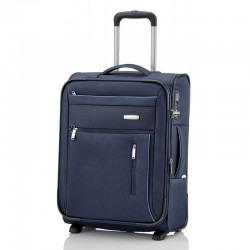 Mažas medžiaginis lagaminas Travelite Capri M Mėlynas