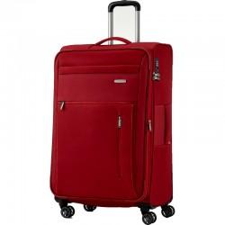 Didelis medžiaginis lagaminas Travelite Capri D Raudonas
