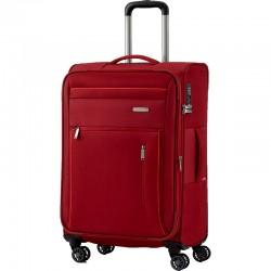 Vidutinis medžiaginis lagaminas Travelite Capri V Mėlynas