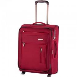 Mažas medžiaginis lagaminas Travelite Capri M Raudonas