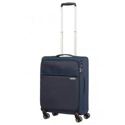 Mažas lagaminas American Tourister Lite Ray M-4W Tamsiai mėlynas