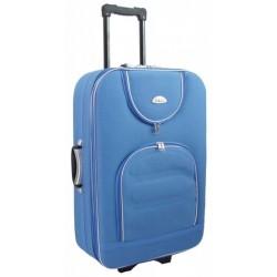 Didelis medžiaginis lagaminas Deli 801-D Šviesiai mėlynas