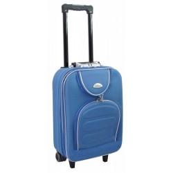 Mažas medžiaginis lagaminas Deli 801-M Šviesiai mėlynas