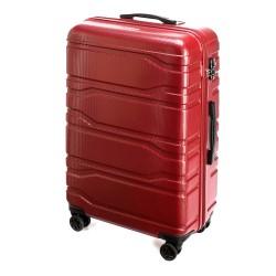 Didelis plastikinis lagaminas Wittchen 56-3P-983 Raudonas