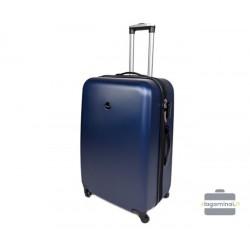 Didelis plastikinis lagaminas Gravitt 866-D Mėlynas