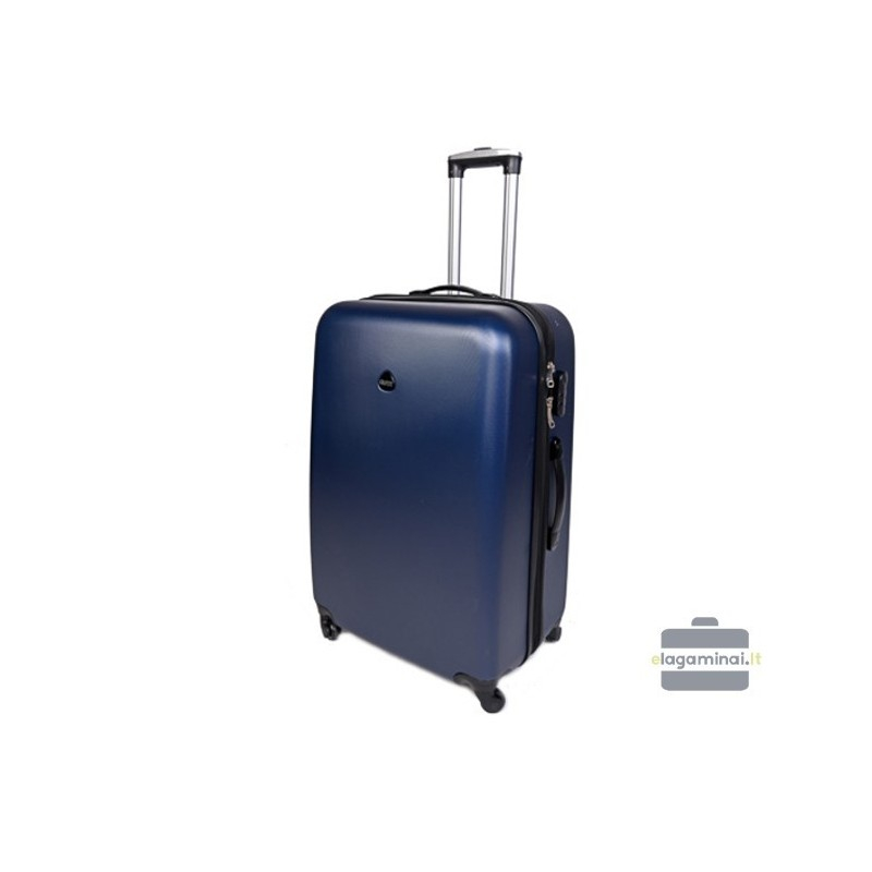Vidutinis plastikinis lagaminas Gravitt 866-V Mėlynas