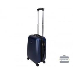 Mažas plastikinis lagaminas Gravitt 866-M Mėlynas