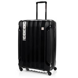 Didelis plastikinis lagaminas Swissbags Tourist PP-D Juodas