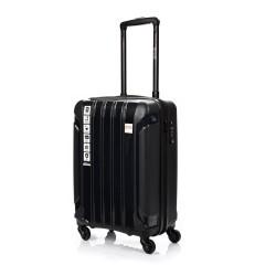 Mažas plastikinis lagaminas Swissbags Tourist PP-M Juodas