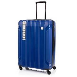 Didelis plastikinis lagaminas Swissbags Tourist PP-D Mėlynas