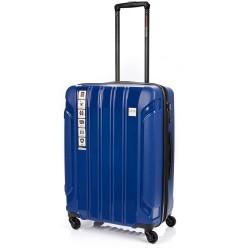 Vidutinis plastikinis lagaminas Swissbags Tourist PP-V Mėlynas