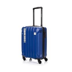Mažas plastikinis lagaminas Swissbags Tourist PP-M Mėlynas