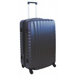 Didelis plastikinis lagaminas Gravitt 888-2Z-D Tamsiai mėlynas