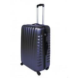 Vidutinis plastikinis lagaminas Gravitt 888-2Z-V Tamsiai mėlynas