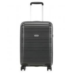 Mažas plastikinis lagaminas Travelite Zenit M Pilkas