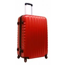Vidutinis plastikinis lagaminas Gravitt 888-2Z-V Raudonas