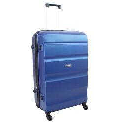 Vidutinis plastikinis lagaminas Gravitt Travel 710-V Mėlynas