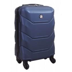 Mažas plastikinis lagaminas Gravitt 950-M Tamsiai melynas