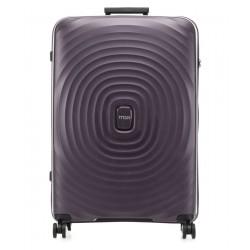 Didelis plastikinis lagaminas Titan Looping-D Violetinis