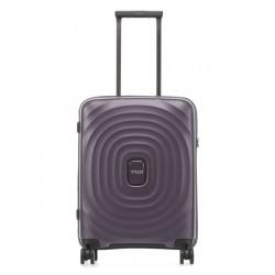 Mažas plastikinis lagaminas Titan Looping-M Violetinis
