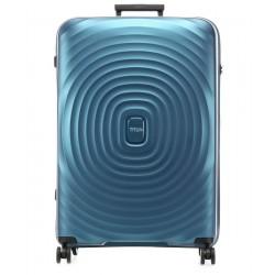 Didelis plastikinis lagaminas Titan Looping-D Mėlynas