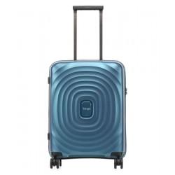 Mažas plastikinis lagaminas Titan Looping-M Mėlynas
