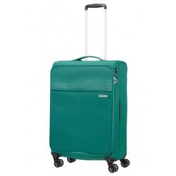 Vidutinis lagaminas American Tourister Lite Ray V Žalias