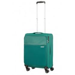 Mažas lagaminas American Tourister Lite Ray M-4W Žalias