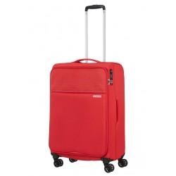 Vidutinis lagaminas American Tourister Lite Ray V Raudonas