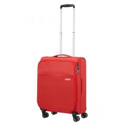 Mažas lagaminas American Tourister Lite Ray M-4W Raudonas