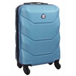 Mažas plastikinis lagaminas Gravitt 950-M Šviesiai mėlynas