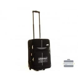 Vaikiškas medžiaginis lagaminas Worldline 521-LM Juodas