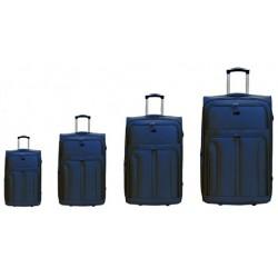 Labai didelis (83 cm) XXL medžiaginis lagaminas Airtex 6525 Mėlynas
