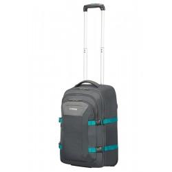 Krepšys su ratukais - kuprinė kompiuteriui American Tourister Road Quest 89442 Pilkas