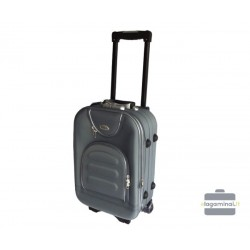 Mažas medžiaginis lagaminas Deli 801-M Pilkas