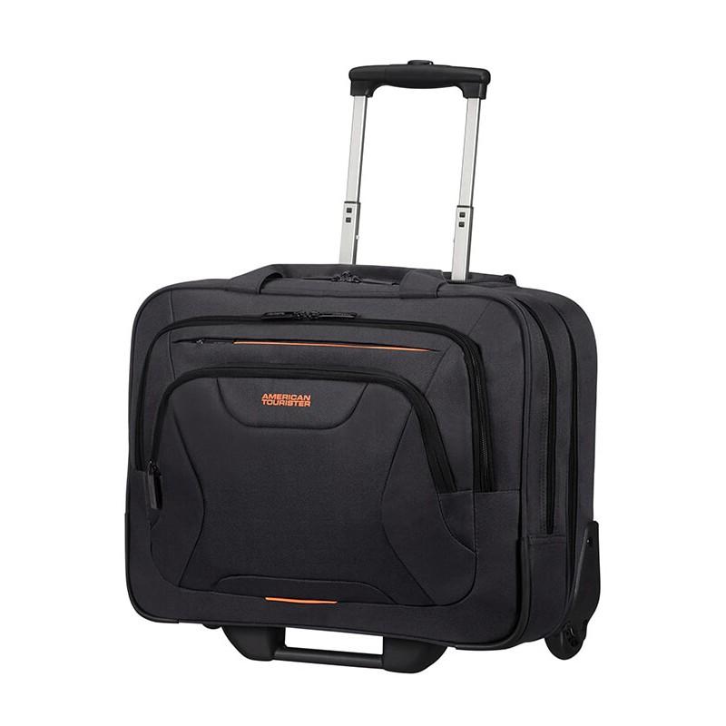 Krepšys su ratukais kompiuteriui American Tourister AT Work 88533 Juodas