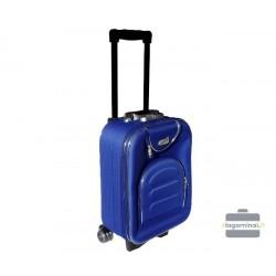 Mažas medžiaginis lagaminas Deli 801-M Mėlynas