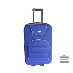 Vidutinis medžiaginis lagaminas Deli 801-V Mėlynas