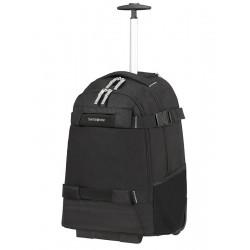 """Krepšys su ratukais - kuprinė 17"""" kompiuteriui Samsonite Sonora 128093 Juoda"""