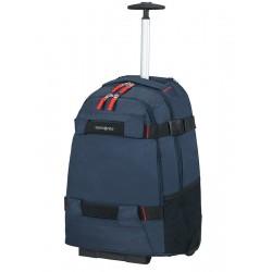 """Krepšys su ratukais - kuprinė 17"""" kompiuteriui Samsonite Sonora 128093 Mėlyna"""