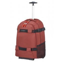 """Krepšys su ratukais - kuprinė 17"""" kompiuteriui Samsonite Sonora 128093 Raudona"""