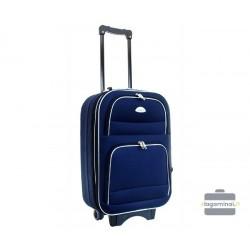 Mažas medžiaginis lagaminas Deli 901-M Tamsiai mėlynas