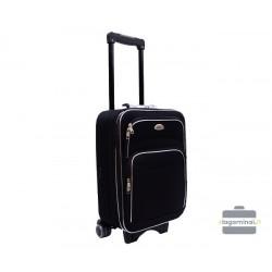 Mažas medžiaginis lagaminas Bagia A101-M Juodas