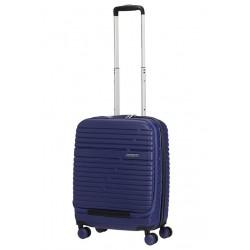 Mažas lagaminas American Tourister Aero Racer Frontloader 15,6 M Mėlynas