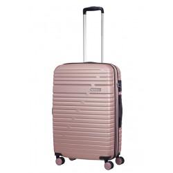 Vidutinis lagaminas American Tourister Aero Racer V Rožinė spalva