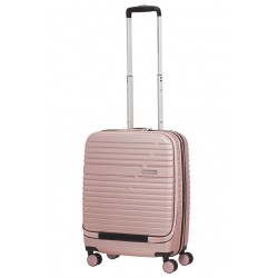 Mažas lagaminas American Tourister Aero Racer Frontloader 15,6 M Rožinė spalva