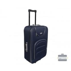Vidutinis medžiaginis lagaminas Deli 801-V Tamsiai mėlynas
